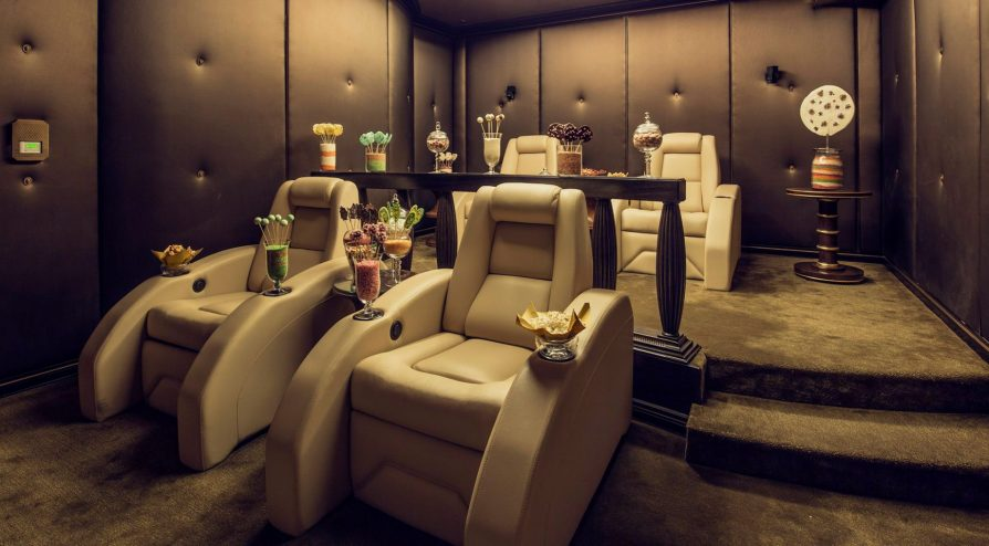 The St. Regis Abu Dhabi Luxury Hotel - Abu Dhabi, United Arab Emirates - Private Theatre