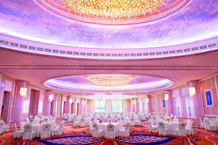 The St. Regis Abu Dhabi Luxury Hotel - Abu Dhabi, United Arab Emirates - Al Mudhaif Ballroom Banquet