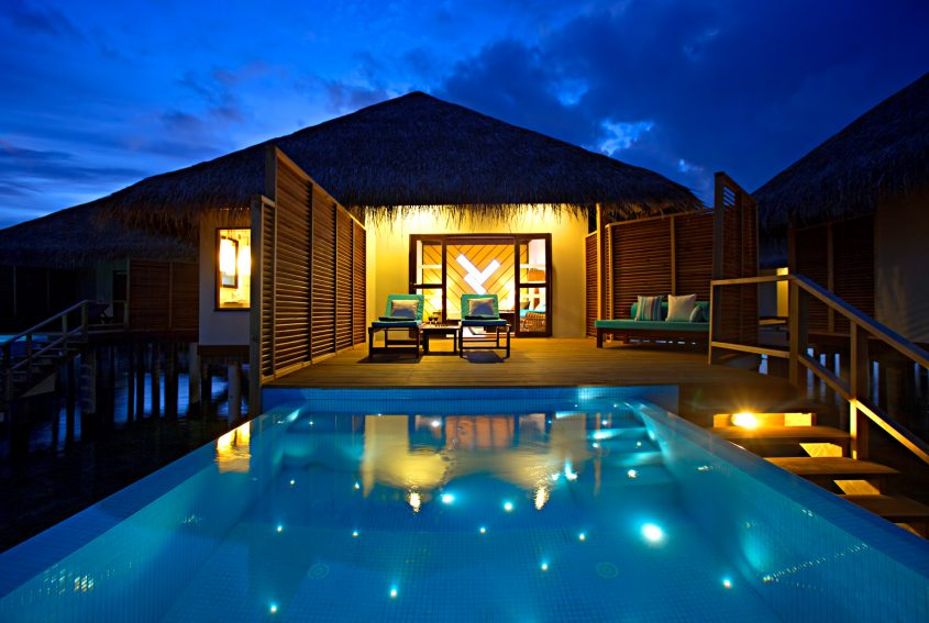 Velassaru Maldives Luxury Resort - South Male Atoll, Maldives - Beach Villa Sunset