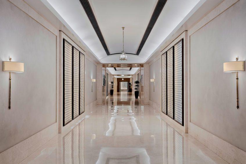 The St. Regis Abu Dhabi Luxury Hotel - Abu Dhabi, United Arab Emirates - Private Tunnel