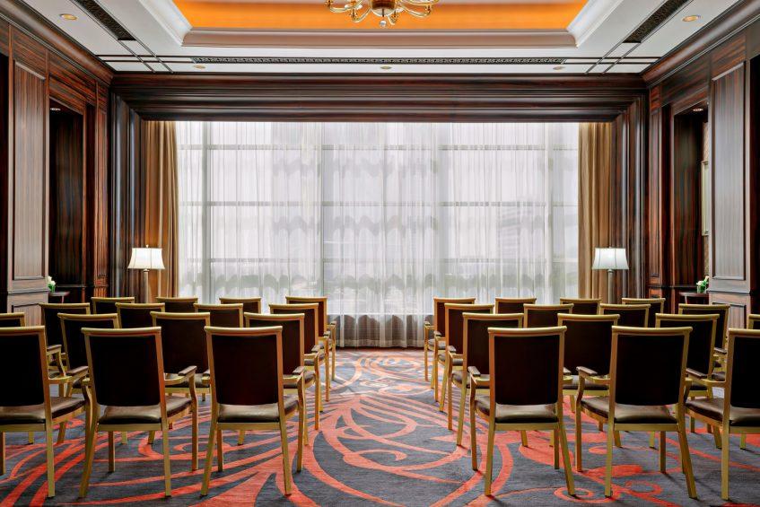 The St. Regis Abu Dhabi Luxury Hotel - Abu Dhabi, United Arab Emirates - Meeting Room