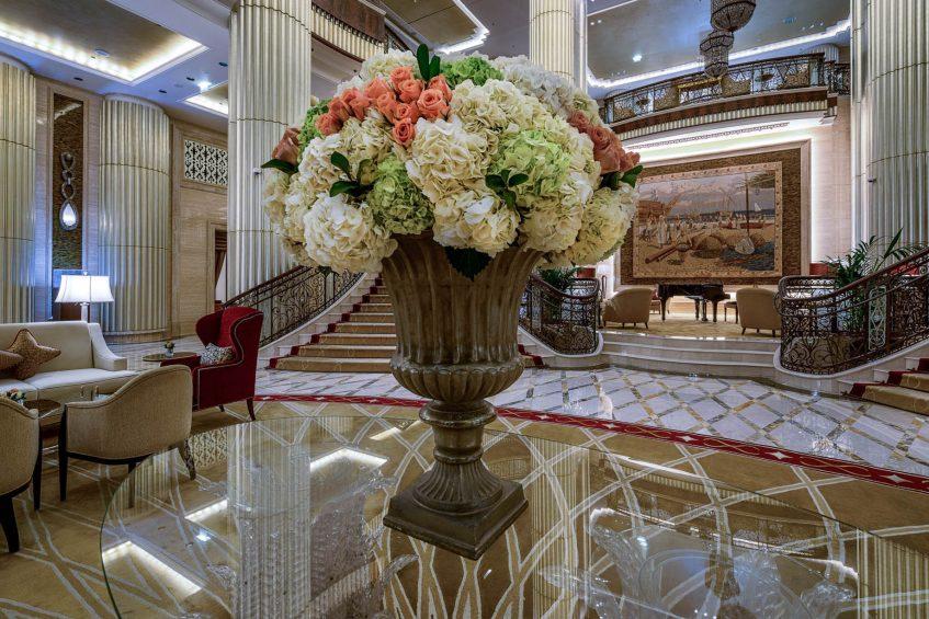 The St. Regis Abu Dhabi Luxury Hotel - Abu Dhabi, United Arab Emirates - Grand Lobby