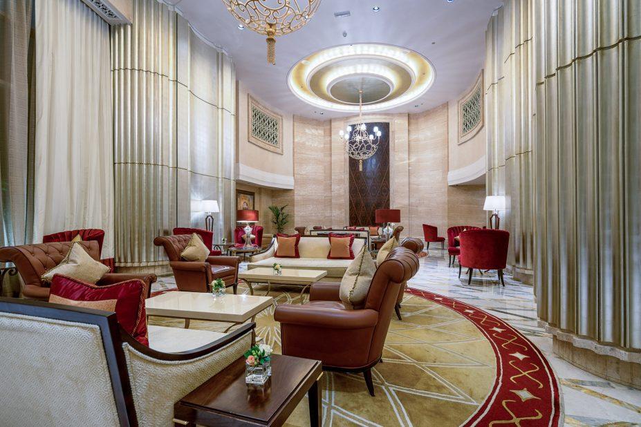 The St. Regis Abu Dhabi Luxury Hotel - Abu Dhabi, United Arab Emirates - Grand Lounge
