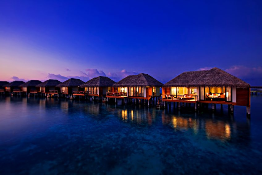 Velassaru Maldives Luxury Resort - South Male Atoll, Maldives - Villa Sunset