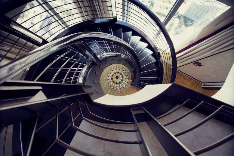 The St. Regis Abu Dhabi Luxury Hotel - Abu Dhabi, United Arab Emirates - Ultra Luxurious Abu Dhabi Suite Staircase