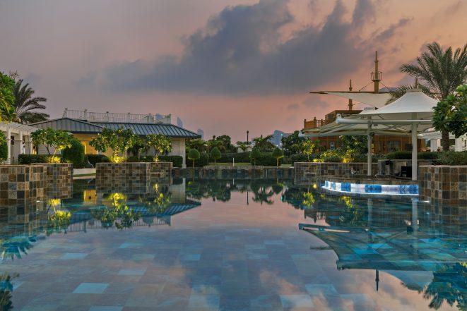 The St. Regis Abu Dhabi Luxury Hotel - Abu Dhabi, United Arab Emirates - Nation Riviera Beach Club Sunset