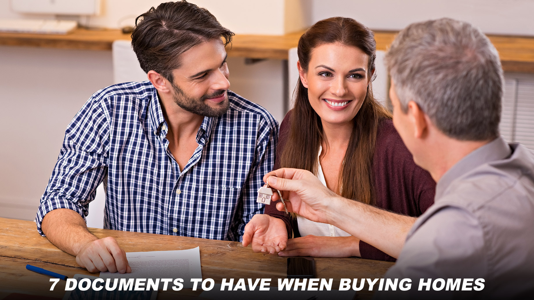 7 Documents to Have When Buying Homes