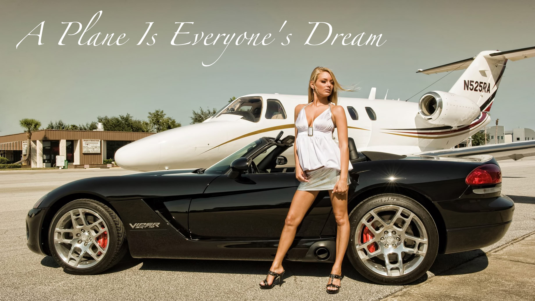 A Plane Is Everyone's Dream - Make It Your Reality