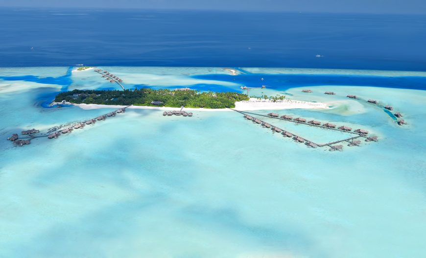 Gili Lankanfushi Luxury Resort - North Male Atoll, Maldives - Resort Aerial
