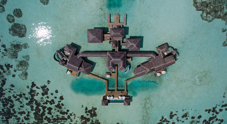Gili Lankanfushi Luxury Resort - North Male Atoll, Maldives - The Private Reserve Birds Eye View