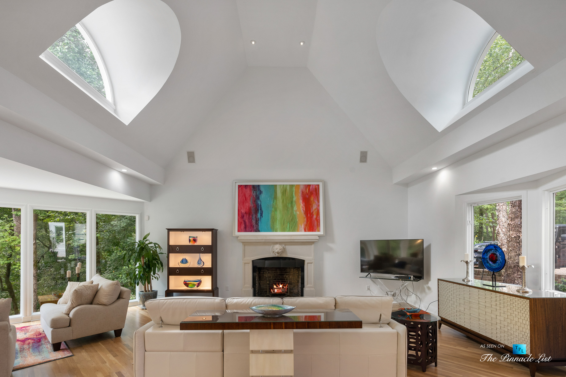 3906 Paces Ferry Rd NW, Atlanta, GA, USA – Living Room – Luxury Real Estate – Buckhead Home