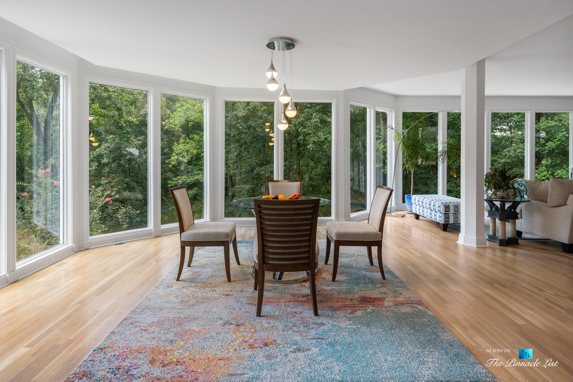 3906 Paces Ferry Rd NW, Atlanta, GA, USA – Kitchen Table Window View – Luxury Real Estate – Buckhead Home