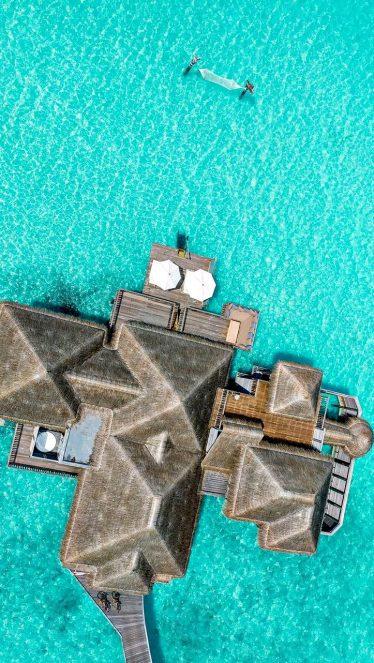 Gili Lankanfushi Luxury Resort - North Male Atoll, Maldives - Family Villa Aerial View