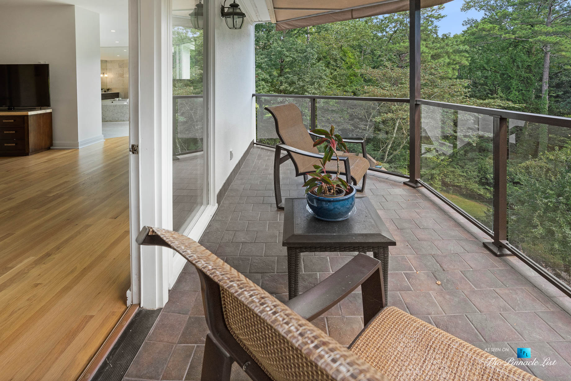 3906 Paces Ferry Rd NW, Atlanta, GA, USA – Master Bedroom Private Deck – Luxury Real Estate – Buckhead Home