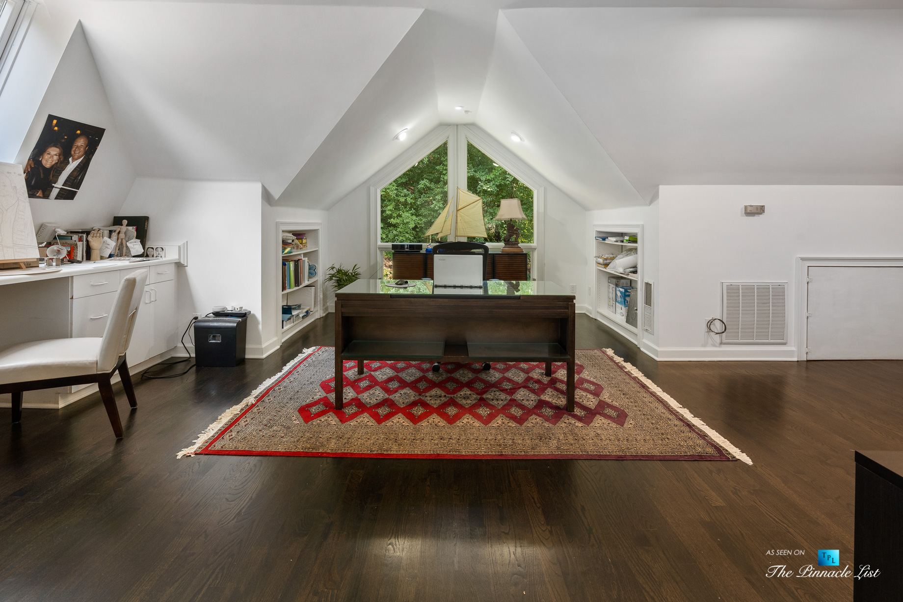 3906 Paces Ferry Rd NW, Atlanta, GA, USA - Private Office - Luxury Real Estate - Buckhead Home