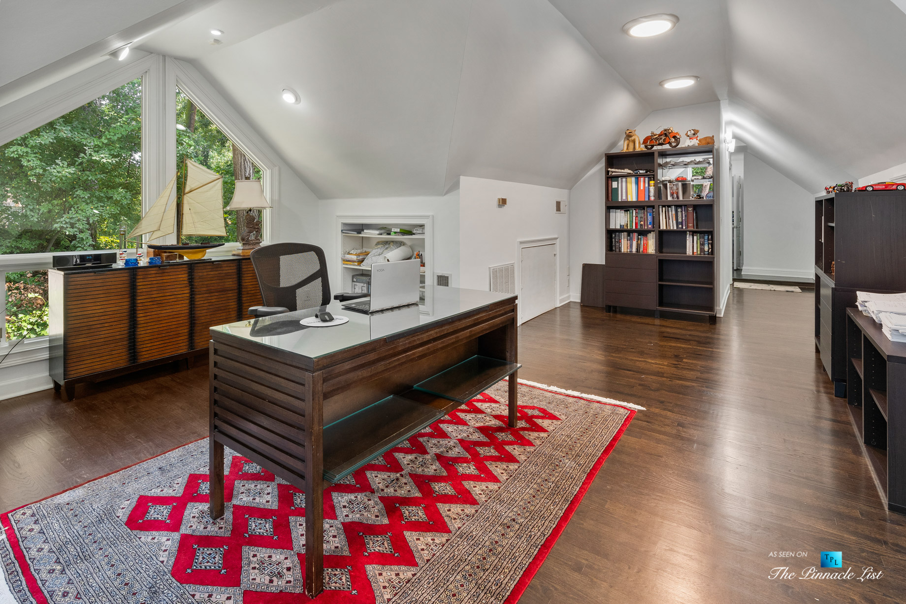 3906 Paces Ferry Rd NW, Atlanta, GA, USA – Private Office – Luxury Real Estate – Buckhead Home