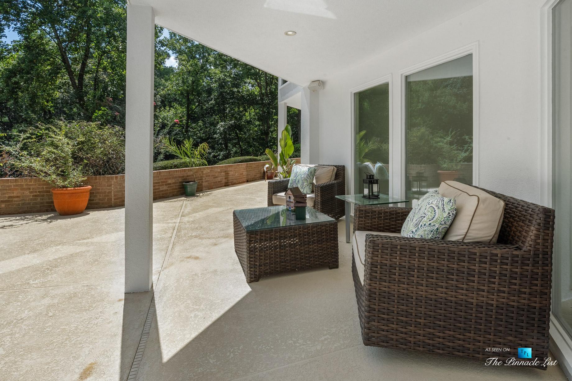 3906 Paces Ferry Rd NW, Atlanta, GA, USA - Backyard Covered Deck - Luxury Real Estate - Buckhead Home