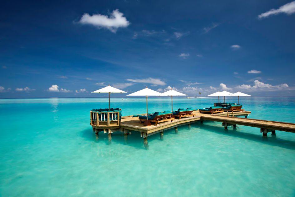 Gili Lankanfushi Luxury Resort - North Male Atoll, Maldives - Overwater Bar Deck