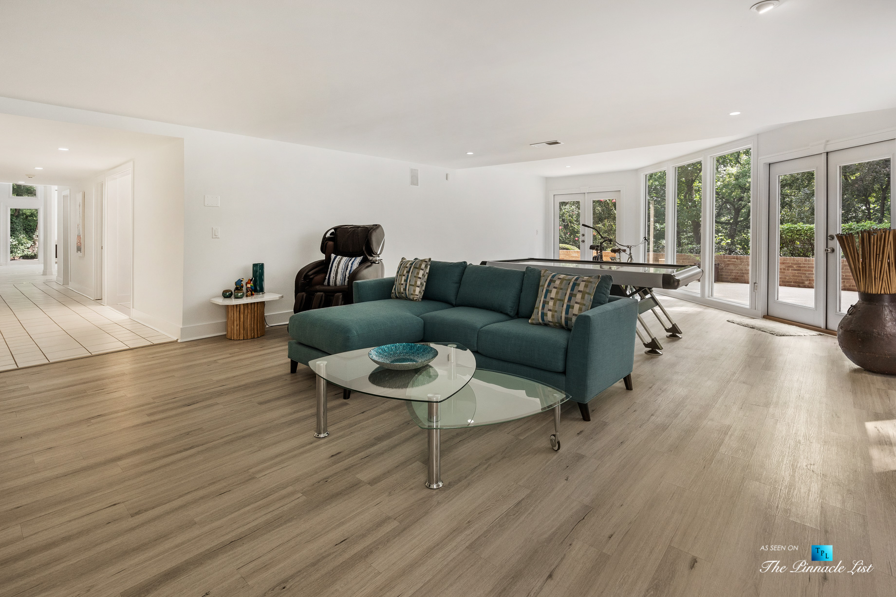 3906 Paces Ferry Rd NW, Atlanta, GA, USA – Basement Recreation Room – Luxury Real Estate – Buckhead Home