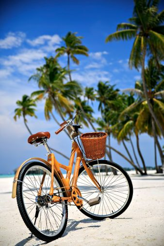 Gili Lankanfushi Luxury Resort - North Male Atoll, Maldives - Beach Resort Bicycle