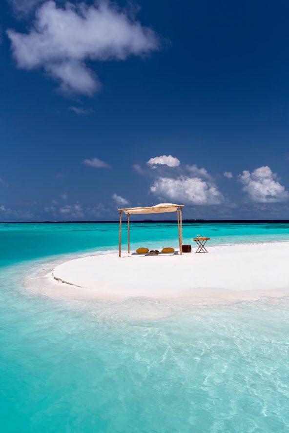 Gili Lankanfushi Luxury Resort - North Male Atoll, Maldives - White Sand Beach Sandbar Dining