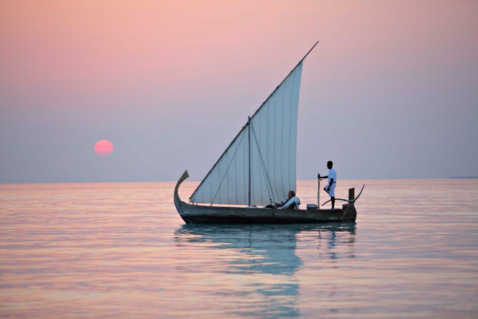 Gili Lankanfushi Luxury Resort - North Male Atoll, Maldives - Boat Sunset