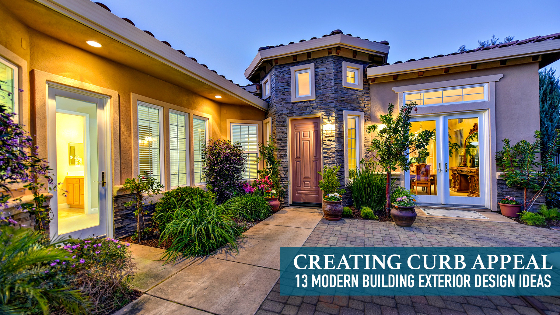 Creating Curb Appeal - 13 Modern Building Exterior Design Ideas