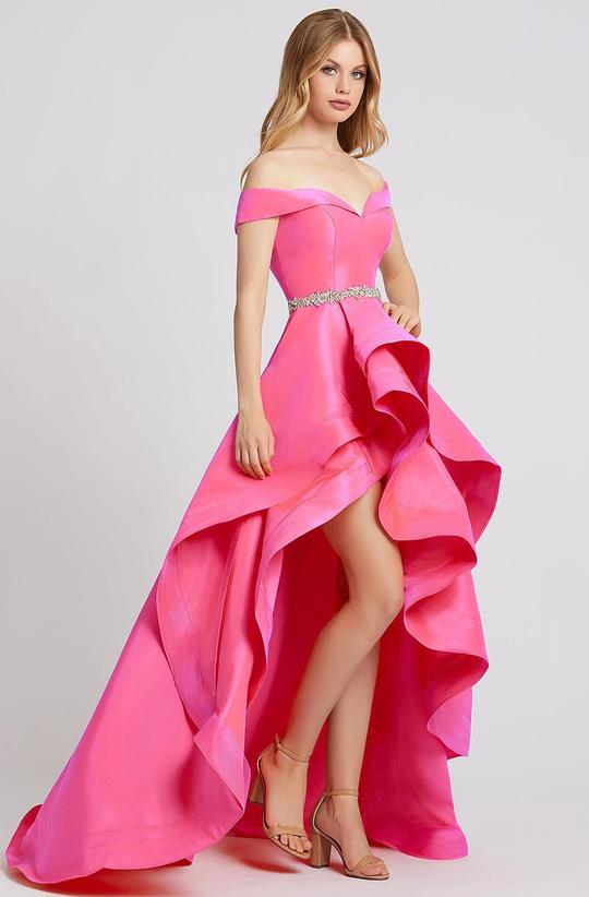 Pink High-Low Sweet 16 Dresses