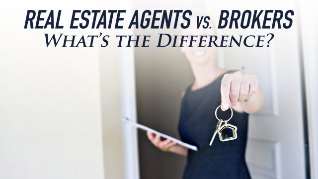 Real Estate Agents vs. Brokers - What's the Difference?