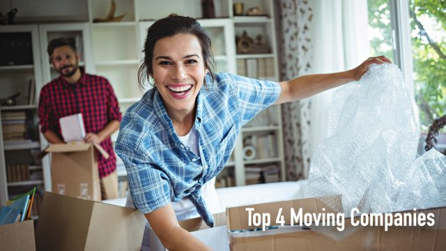 Top 4 Moving Companies in the United States