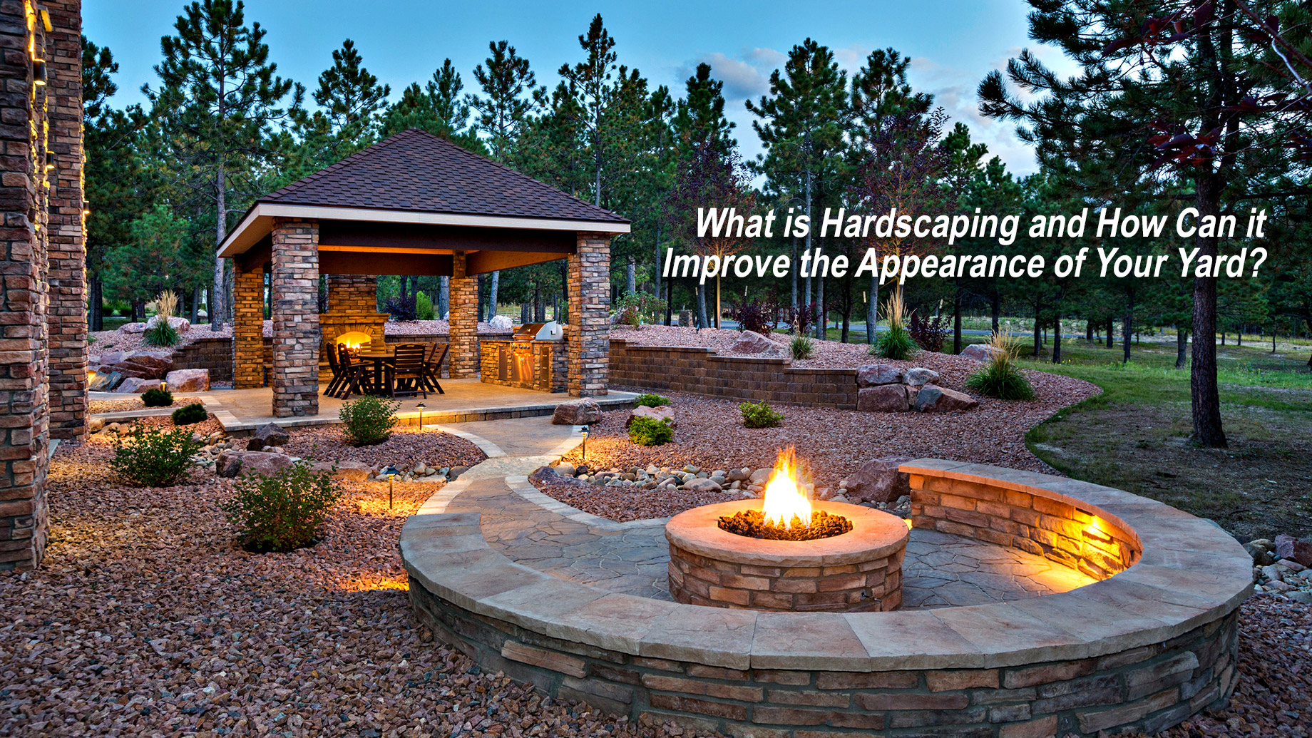 What is Hardscaping and How Can it Improve the Appearance of Your Yard?