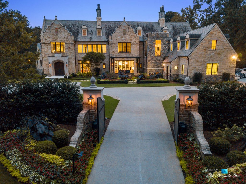 1150 W Garmon Rd, Atlanta, GA, USA - Luxury Real Estate - Buckhead Estate Home