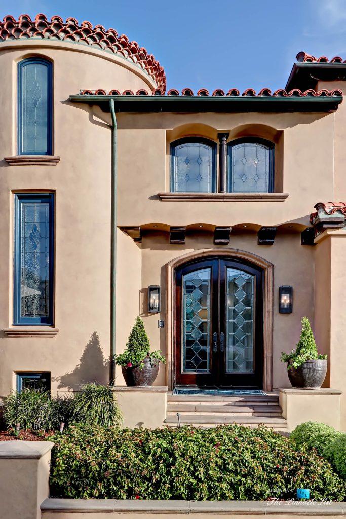 Luxury Real Estate - 1920 The Strand, Manhattan Beach, CA, USA - Dront Door