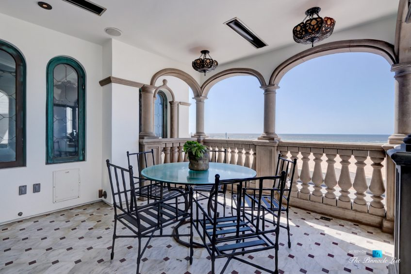 2806 The Strand, Hermosa Beach, CA, USA - Master Balcony Deck - Luxury Real Estate - Oceanfront Home