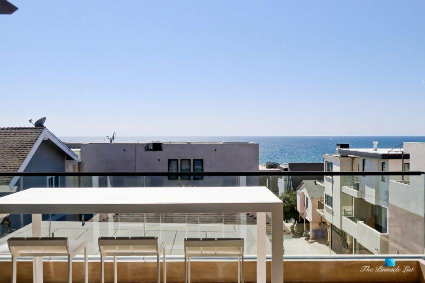 205 20th Street, Manhattan Beach, CA, USA - Back Deck - Luxury Real Estate - Ocean View Home