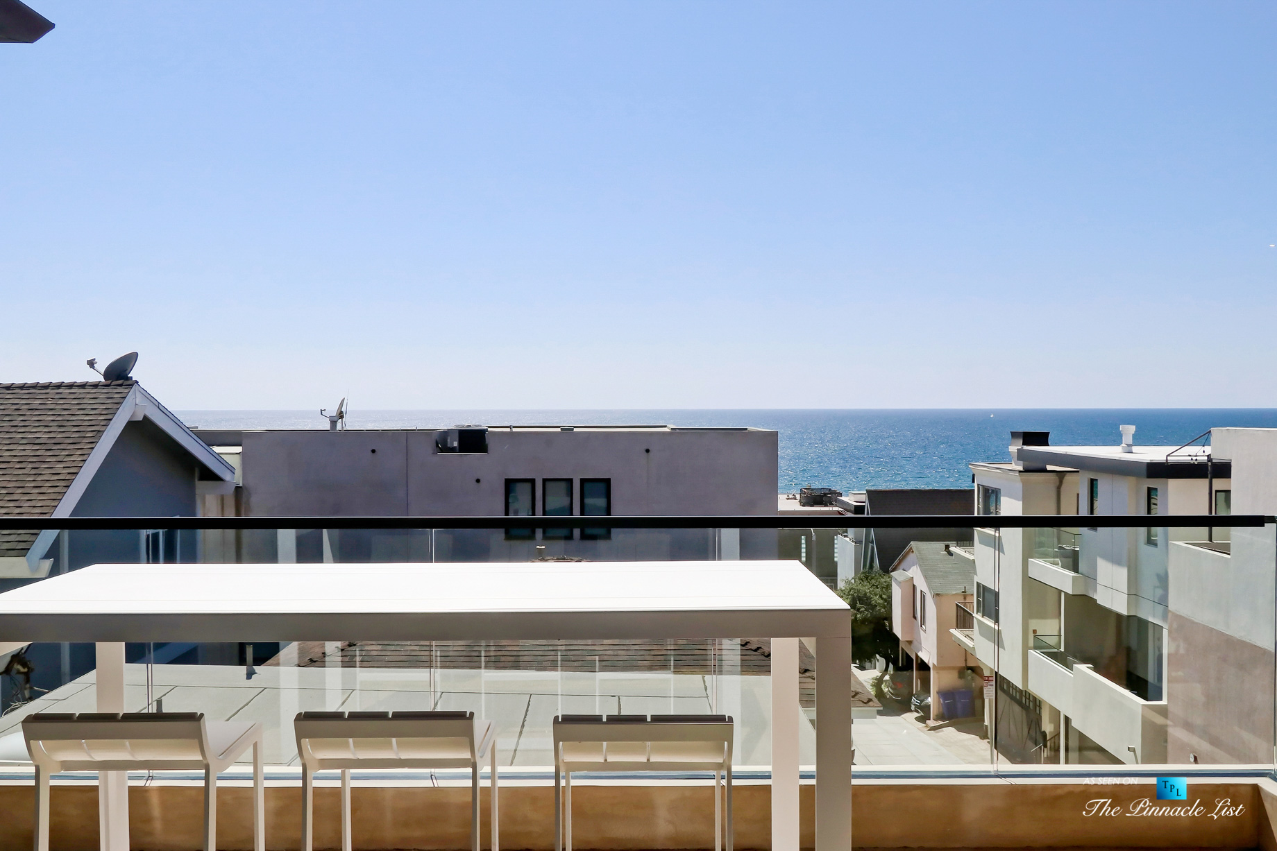 205 20th Street, Manhattan Beach, CA, USA – Back Deck – Luxury Real Estate – Ocean View Home