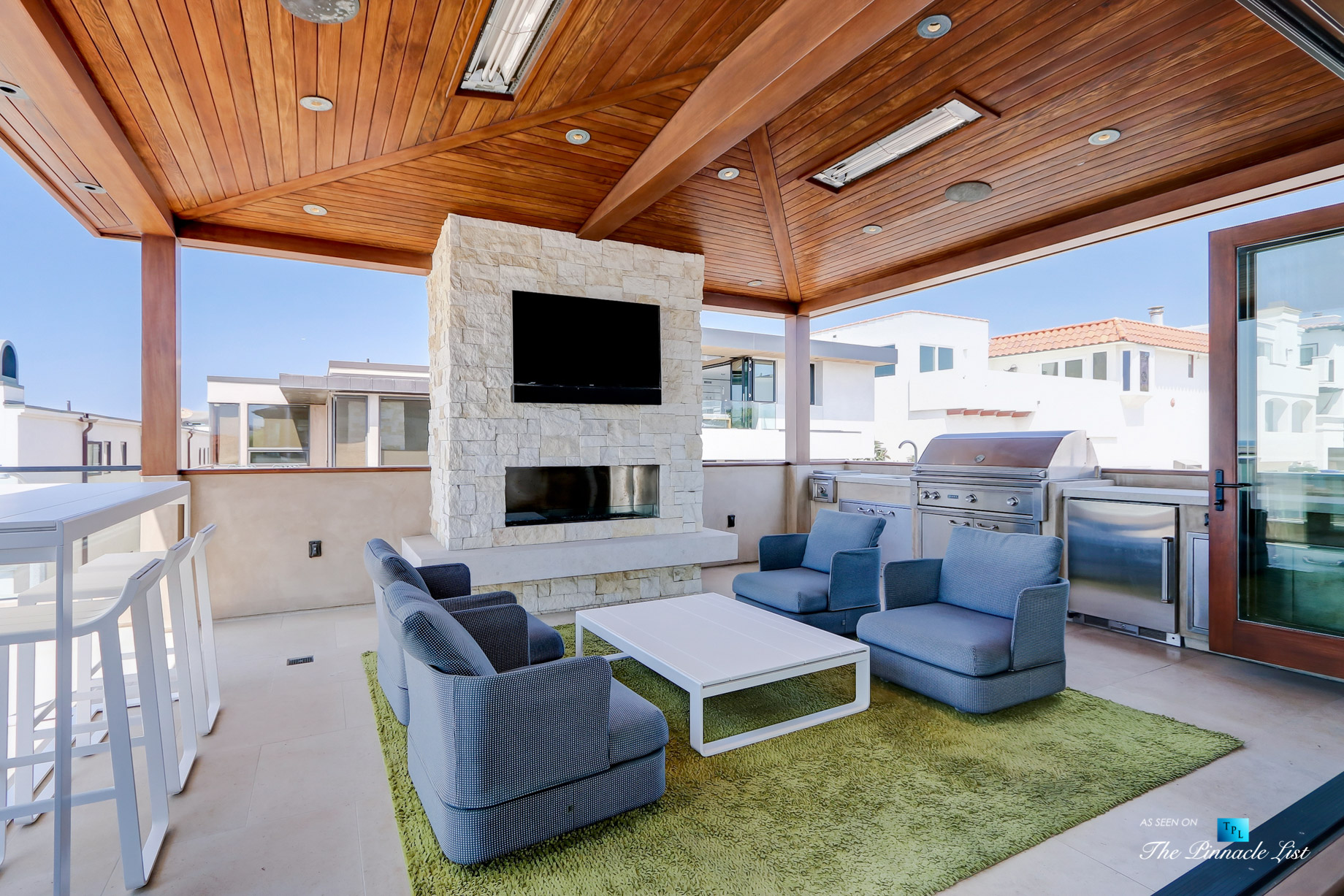 205 20th Street, Manhattan Beach, CA, USA - Back Deck - Luxury Real Estate - Ocean View Home