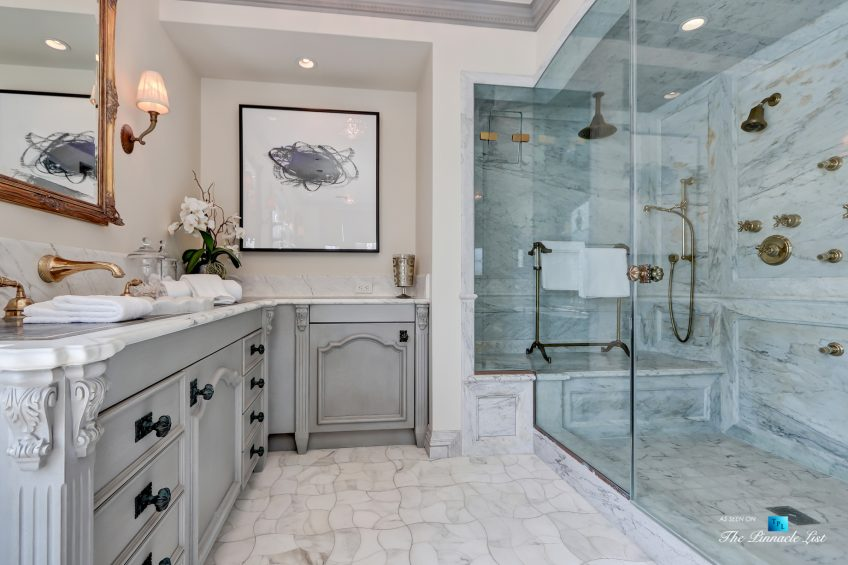 2806 The Strand, Hermosa Beach, CA, USA - Master Bathroom Shower - Luxury Real Estate - Oceanfront Home