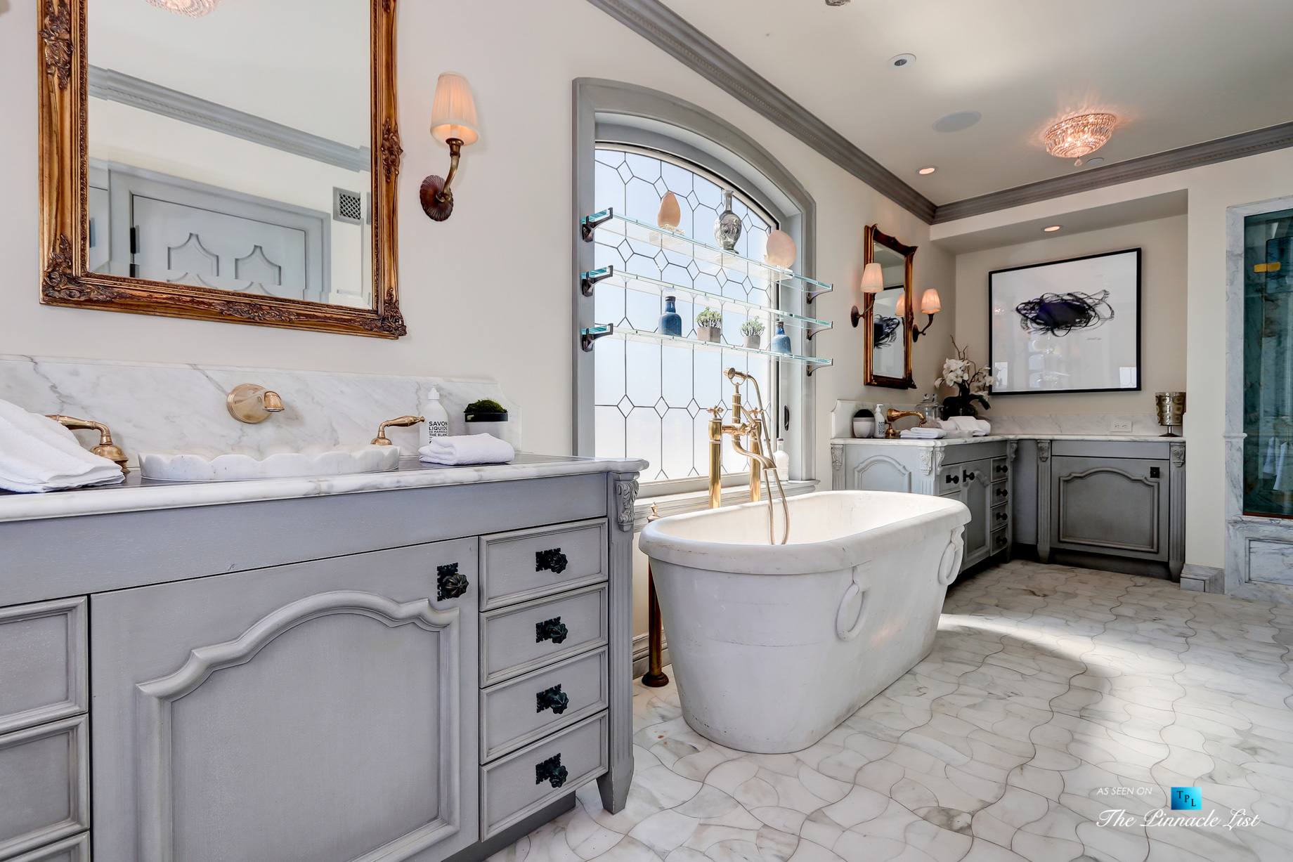 Luxury Real Estate - 2806 The Strand, Hermosa Beach, CA, USA - Master Bathroom