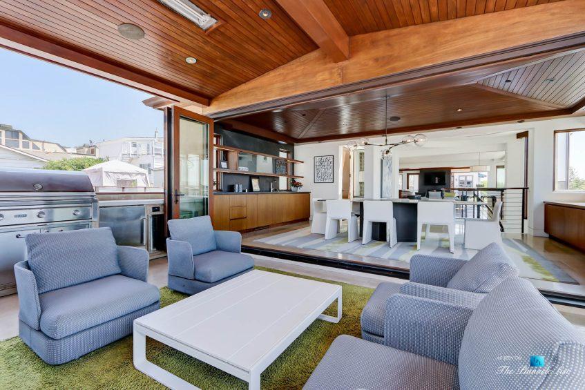 205 20th Street, Manhattan Beach, CA, USA - Back Deck Lounge - Luxury Real Estate - Ocean View Home
