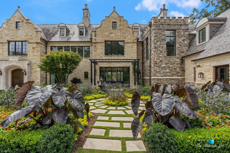 1150 W Garmon Rd, Atlanta, GA, USA - Front Garden View - Luxury Real Estate - Buckhead Estate Home