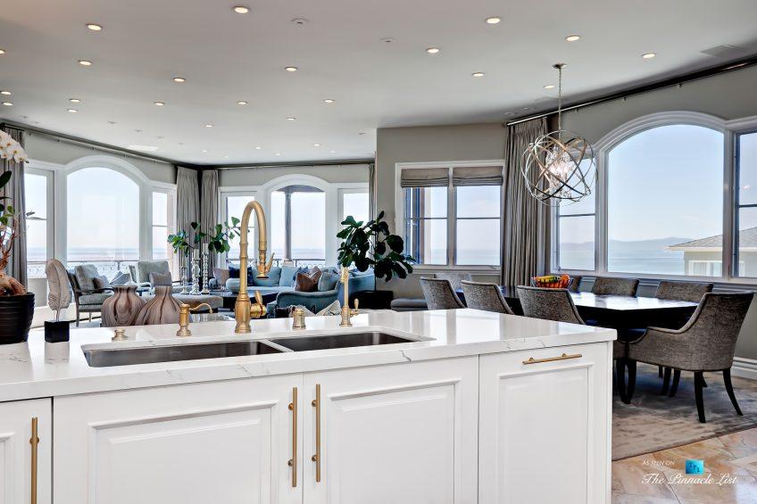 Luxury Real Estate - 1920 The Strand, Manhattan Beach, CA, USA - Kitchen Ocean View