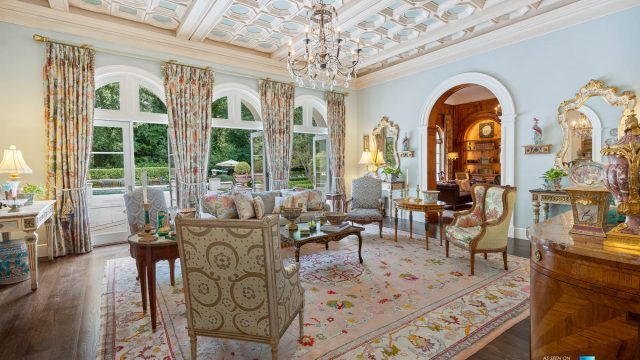 439 Blackland Rd NW, Atlanta, GA, USA - Living Room - Luxury Real Estate - Tuxedo Park Mediterranean Mansion Home