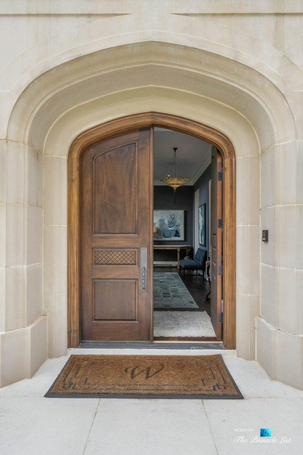 1150 W Garmon Rd, Atlanta, GA, USA - Front Door Entry - Luxury Real Estate - Buckhead Estate Home