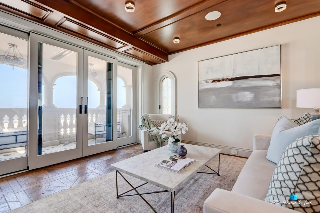 2806 The Strand, Hermosa Beach, CA, USA - Master Bedroom Den - Luxury Real Estate - Oceanfront Home