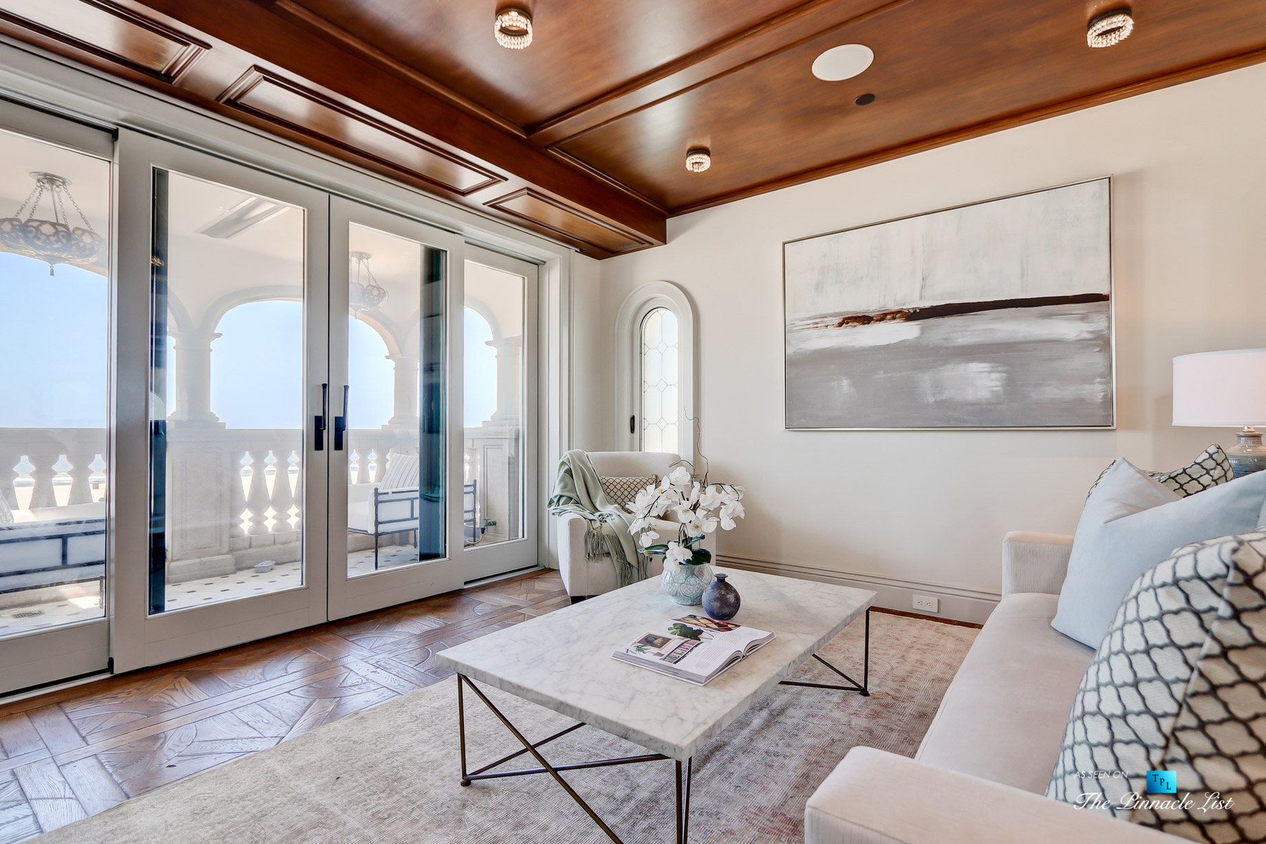 Luxury Real Estate - 2806 The Strand, Hermosa Beach, CA, USA - Master Bedroom Den