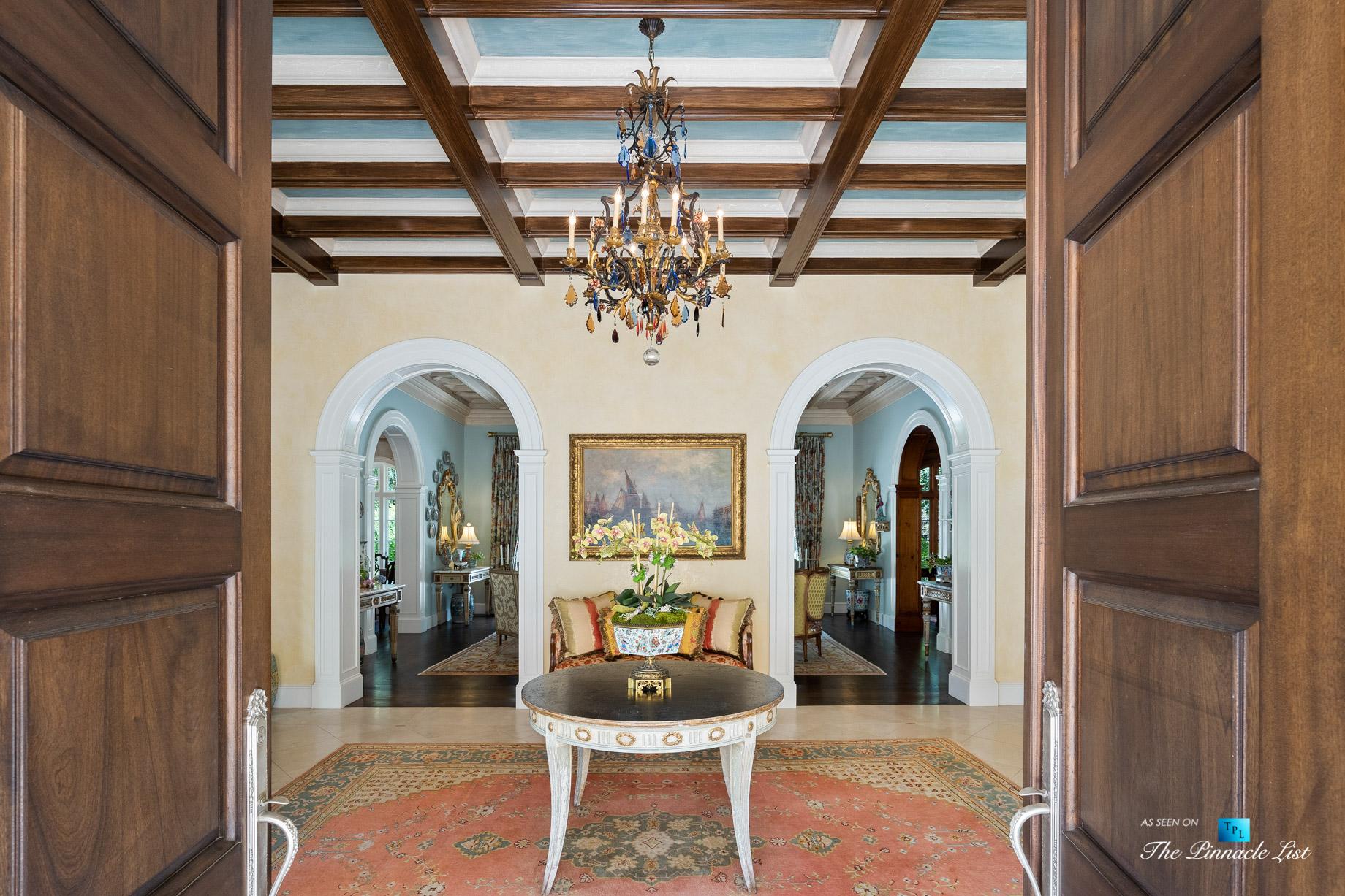 439 Blackland Rd NW, Atlanta, GA, USA – Formal Foyer – Luxury Real Estate – Tuxedo Park Mediterranean Mansion Home