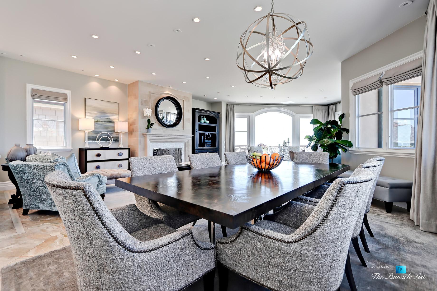 Luxury Real Estate – 1920 The Strand, Manhattan Beach, CA, USA – Dining Room