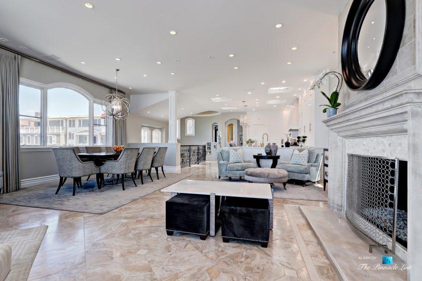 Luxury Real Estate - 1920 The Strand, Manhattan Beach, CA, USA - Dining Living Room