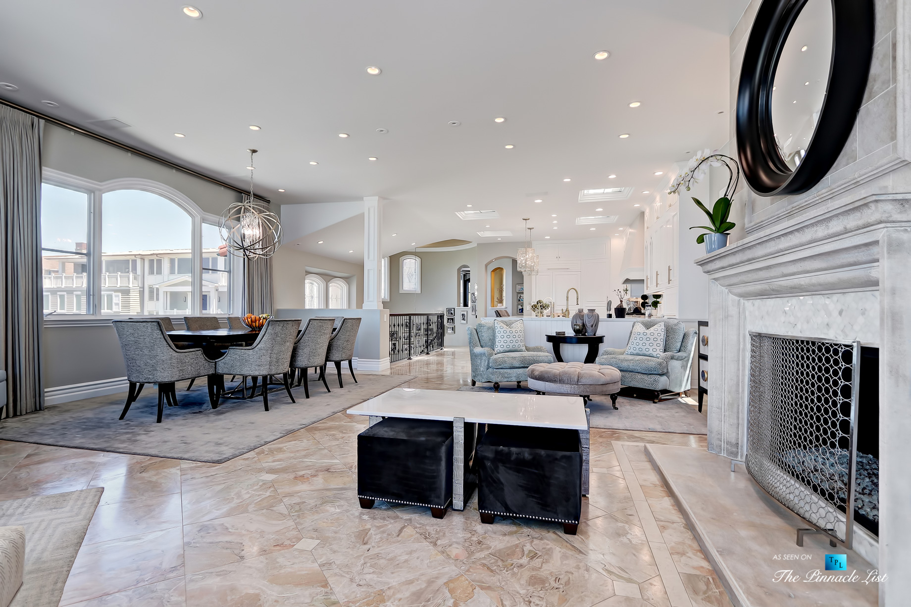 Luxury Real Estate - 1920 The Strand, Manhattan Beach, CA, USA - Dining Living Room